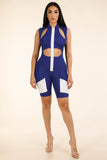 Shocked Jumpsuit Royal Blue