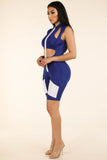 Shocked Jumpsuit Royal Blue - Alvy Luxe