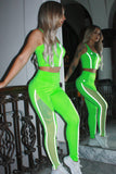 Jazzy Neon Lime Set