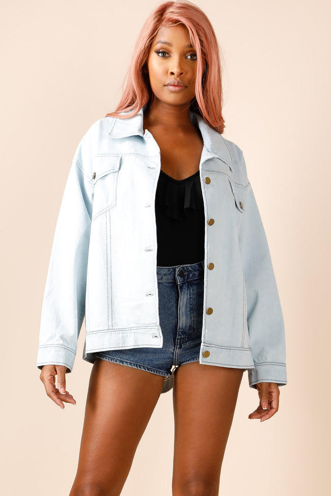 Those Chains Denim Jacket