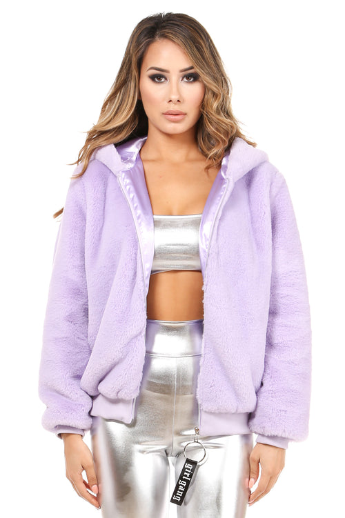 Girl Please Lavender Jacket