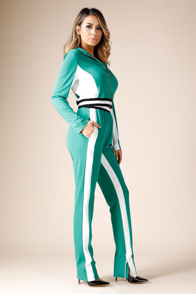 Walk it Like i talk it Kelly Green Track suit
