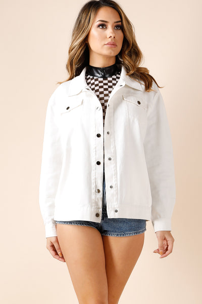 Howdy White jacket
