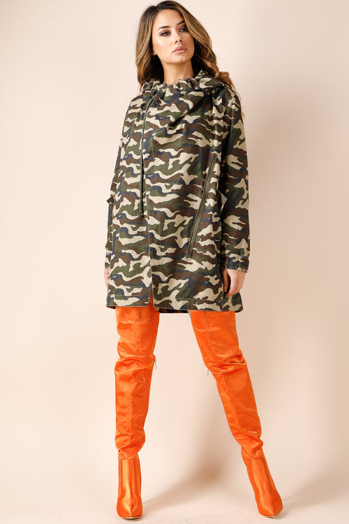 Pick Me up Camo Anorak