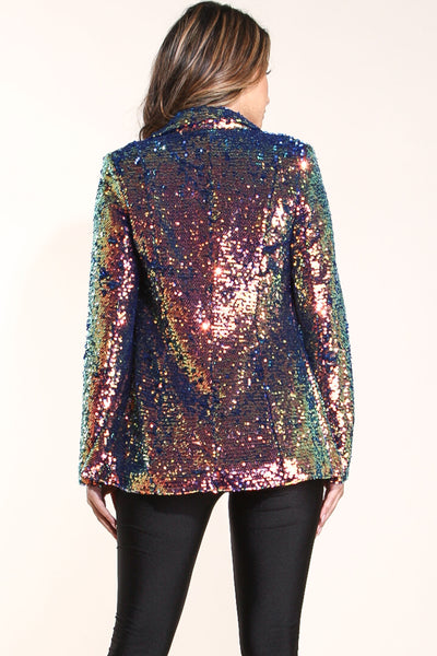 I see you sequin blazer