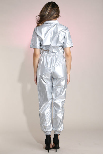 Astro Silver Jumpsuit