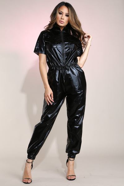 Astro Black Jumpsuit