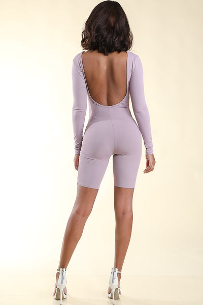 Beverly Lavender Romper - Alvy Luxe