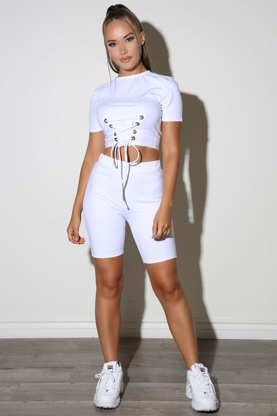 Keke White Set