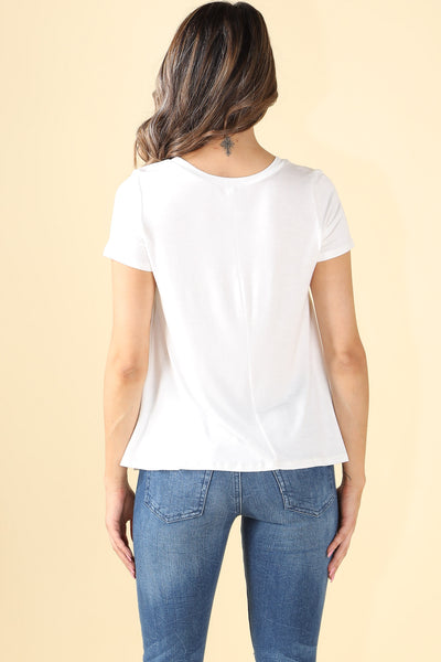 The Not Basic white Shirt