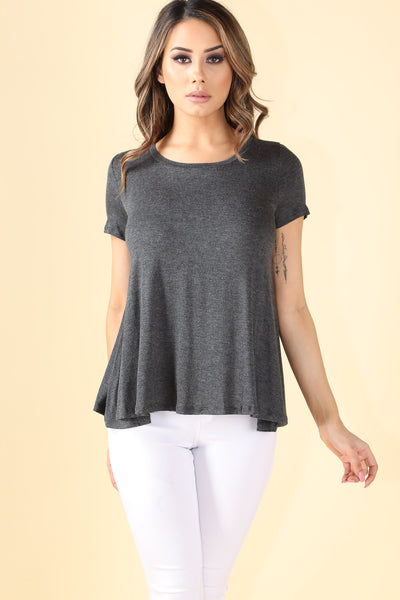 The Not Basic Charcoal Grey Shirt