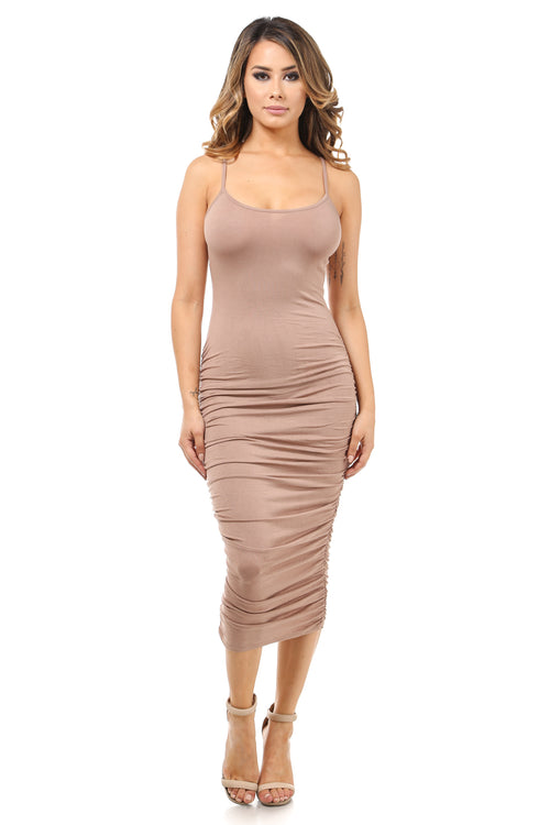 You're irresistible Nude Dress
