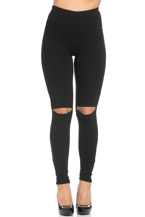 Slit Leggings