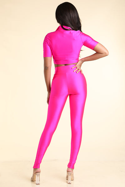 No Advice Hot Pink Set - Alvy Luxe