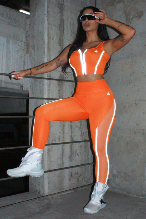 Jazzy Orange Set