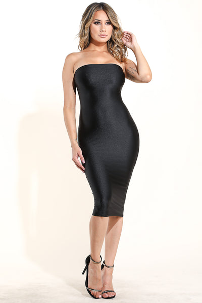 Lonely Girl Black Dress