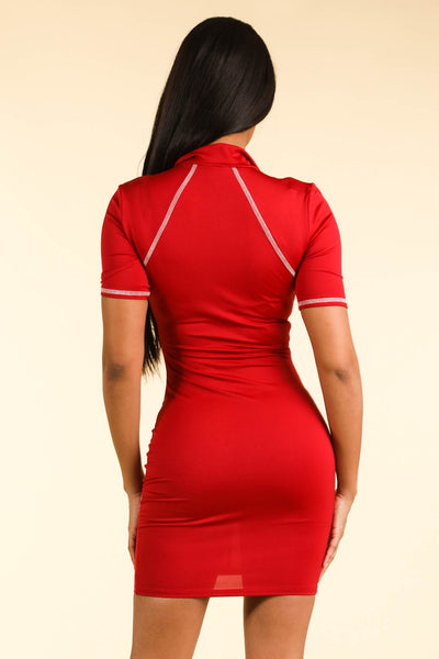 Hollywood Red Dress - Alvy Luxe
