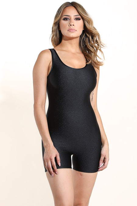 Beverly Black Romper