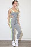 Nex Grey Jumpsuit