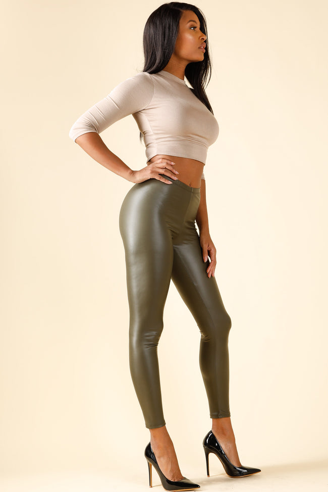 Icon Olive Leggings
