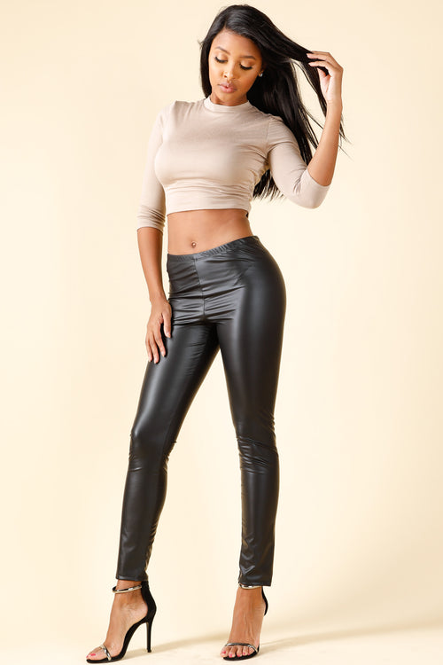Icon Black Leggings