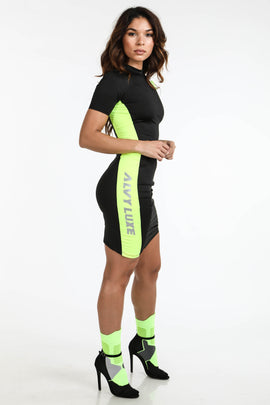 Full Throttle Active Dress Black - Alvy Luxe