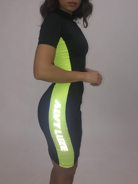 Full Throttle Active Dress Black