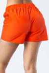 Soccer Logo Shorts Orange