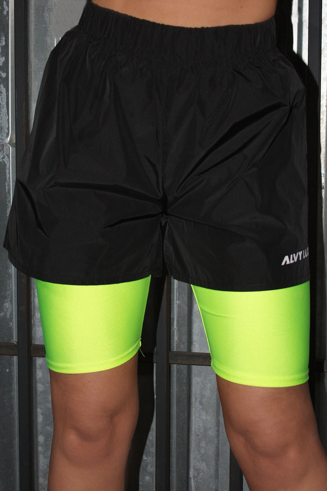 Soccer Logo Shorts Black