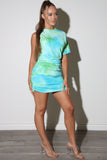 Tie Die Multi Dress