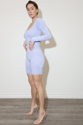 Verlin Grey bodysuit