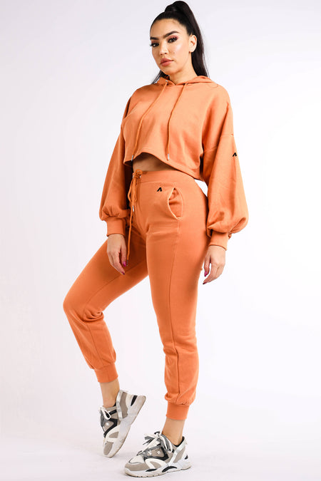 Cody Orange Romper