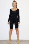 Verlin Black bodysuit