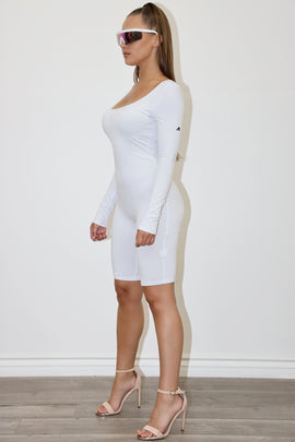 Verlin White bodysuit
