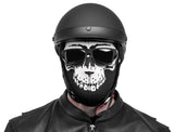 Black Brand Neoprene Full-Face Mask Skull