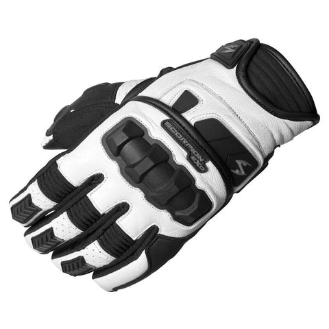 Scorpion Klaw II Gloves in White
