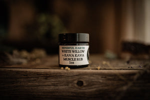 White Willow & Kava Muscle Rub