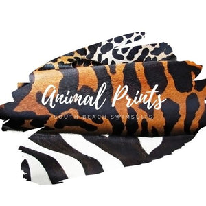 animal prints x south beach swimsuits