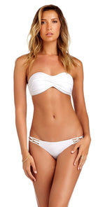 Vitamin A Amber Beaded Full Bottom in White 158BF ECW: