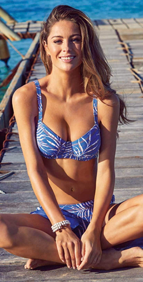 Lidea Martinique Blue Floral Bikini