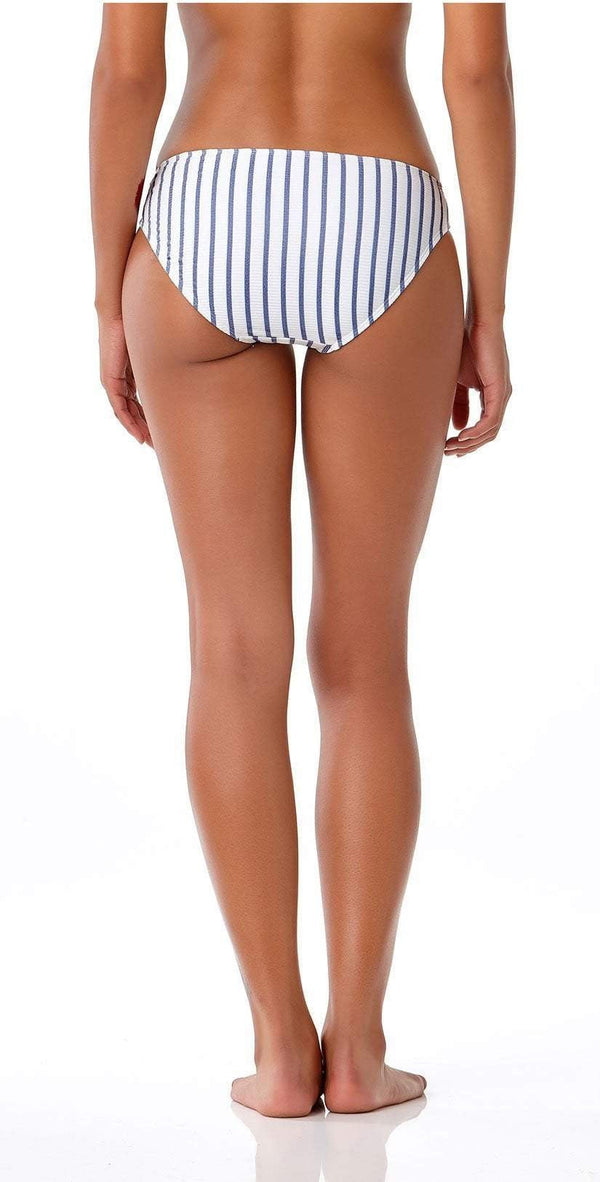 Anne Cole Studio Full Bottom In Blue Stripe 18SB32202-BLST