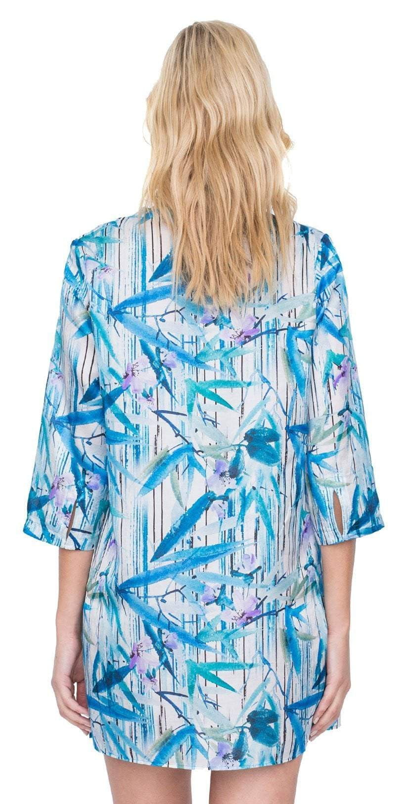 Gottex Exotic Paradise Tunic Cover Up 19EP622 086: