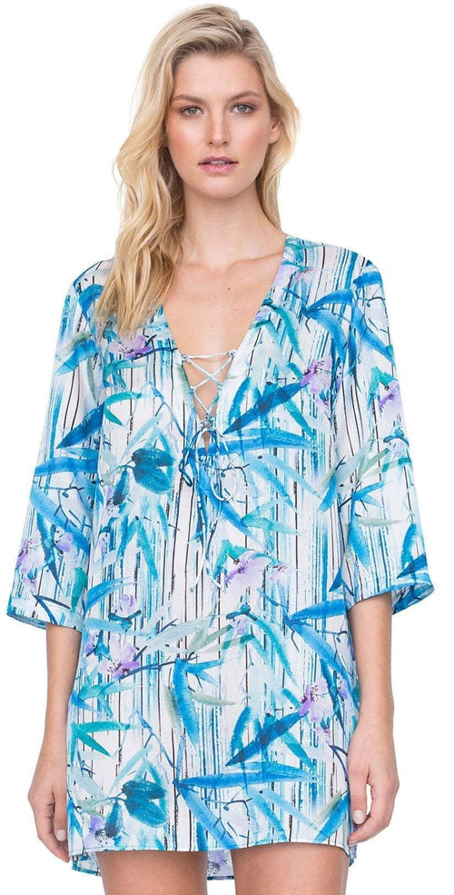 Gottex Exotic Paradise Tunic Cover Up 19EP622 086