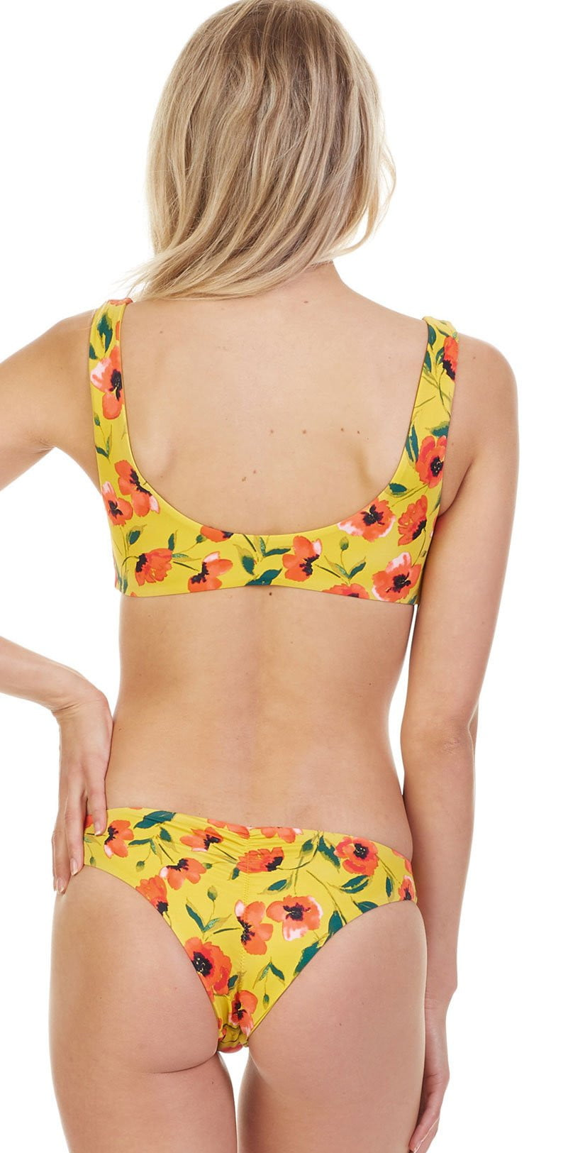 Tori Praver French Poppy Mimi Bikini Bottom 1R18SBMMPO-SAF: