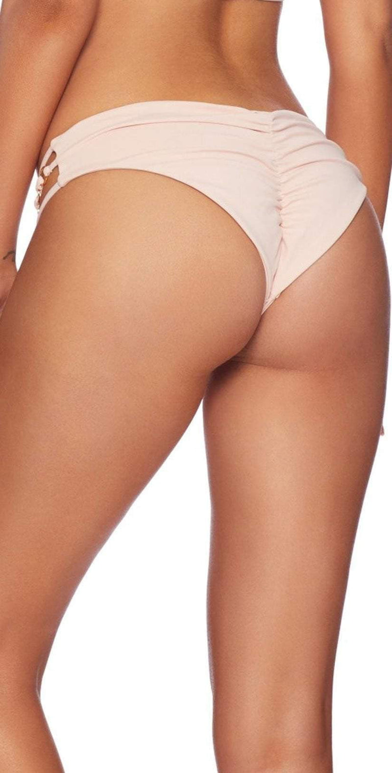 Beach Bunny Ireland Skimpy Bottom in Blush B18127B1-BLS: