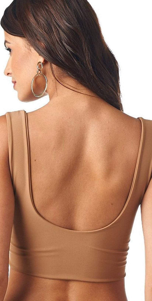 Montce Cappuccino Kim Top back