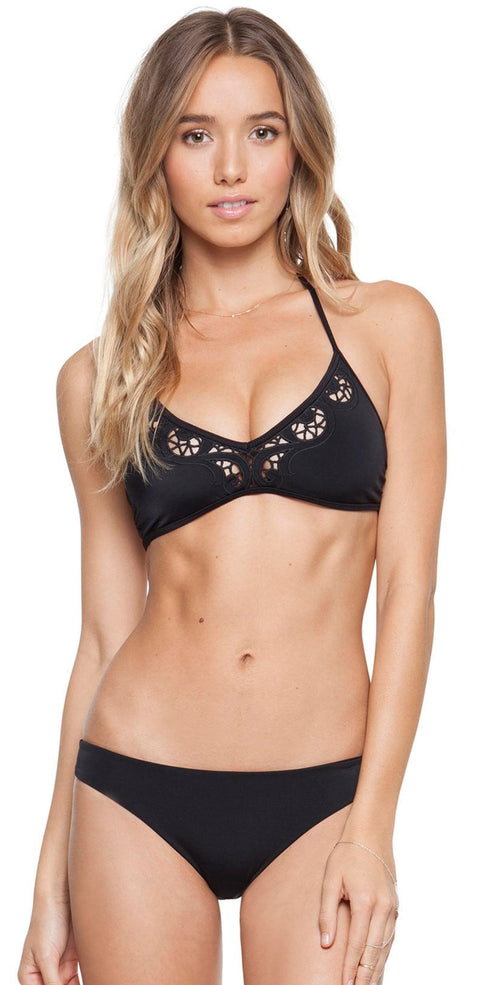 06da9b70b7c Tori Praver Leona Top and Mimi Bottom Bikini In Black