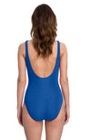 Gottex Mastectomy High Neck Tank One Piece Swimsuit back view