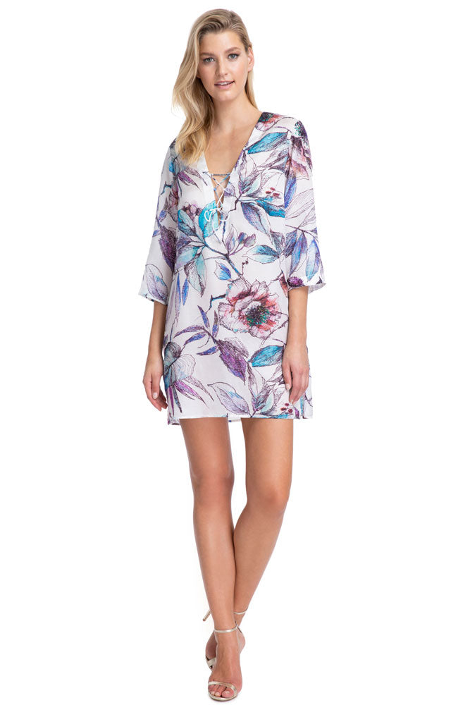 Gottex First Bloom Tunic Cover Up front