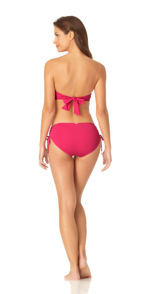 Anne Cole Live In Color Twist Bandeau Bikini Top